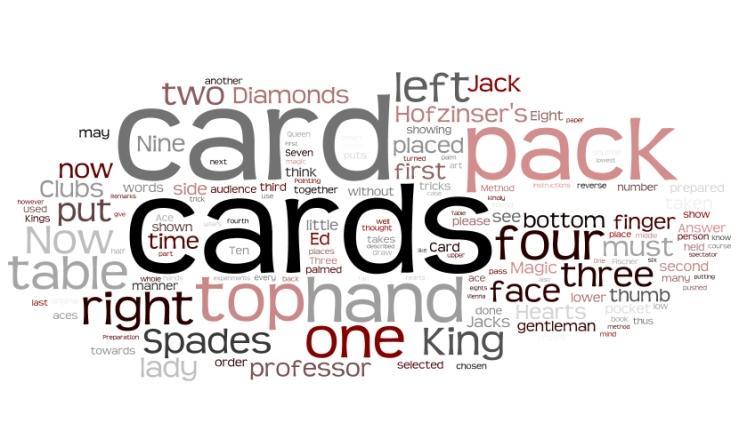 Hofzinser's Card Conjuring Wordle