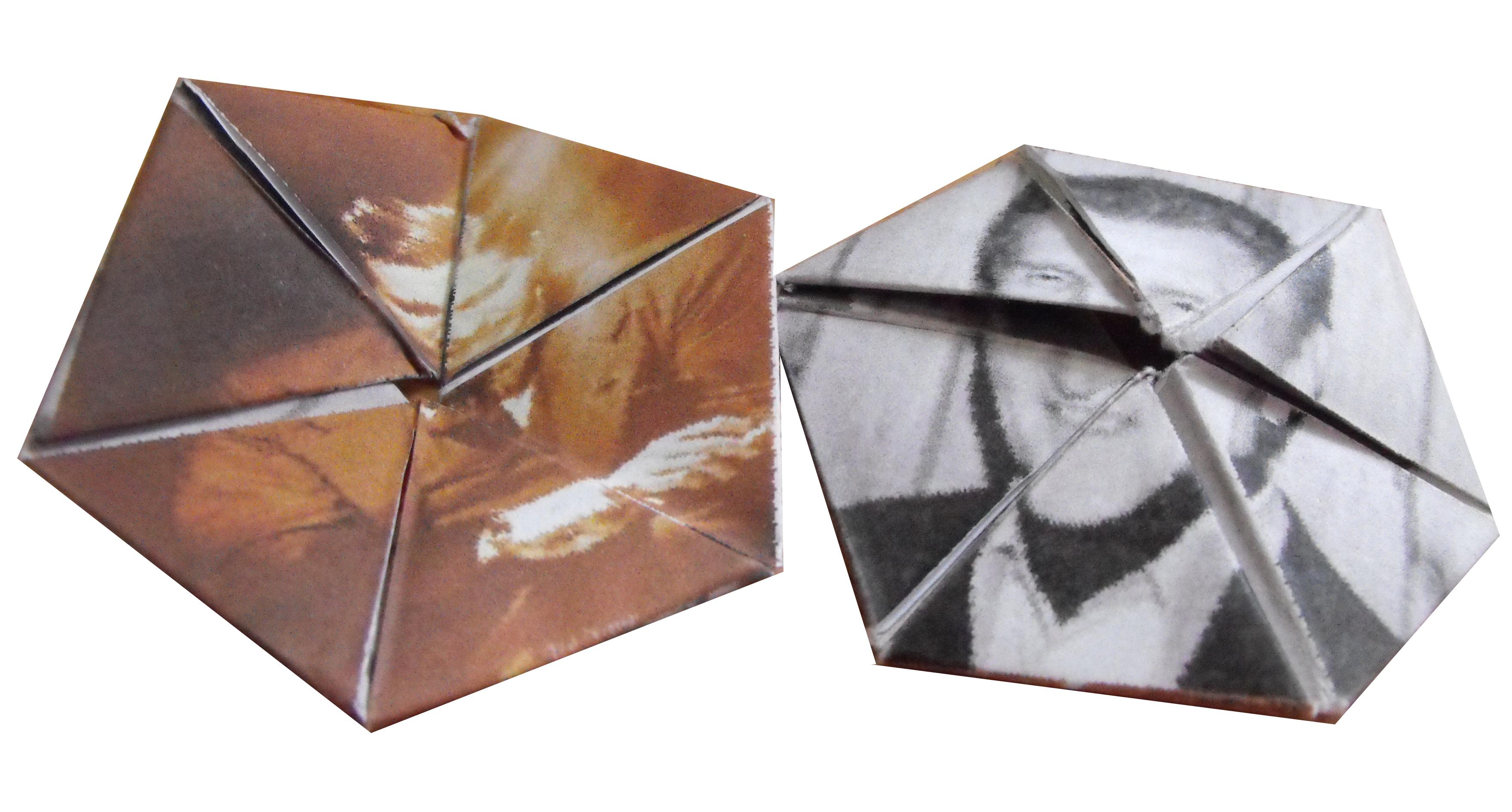 A Magical Hexaflexagon – Hexaflexagon Template